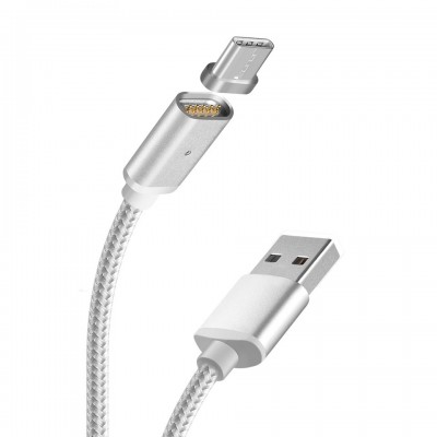 Кабель USB - micro USB HOCO Magnetic Adsorption U16, 1,2м, 2.4A, НА МАГНИТЕ