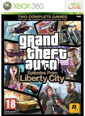 XBOX360 GTA Episodes Liberty City