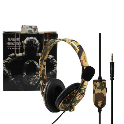 Наушники PS4 / XBOXONE Wired Camouflage (PS4-890 Pro)
