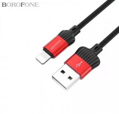 Кабель USB для Apple 8 pin Borofone BX8 MaxSync, 1.0м, 2.1A, силикон