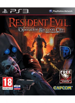 PS3 Resident Evil Operation Raccoon City (русские субтитры)
