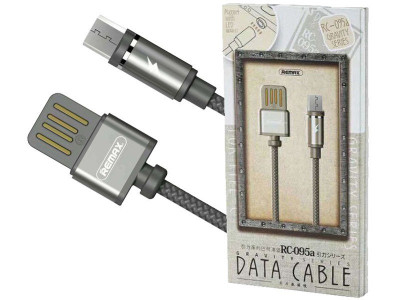 Кабель USB - micro USB Remax RC-095, 2.1A, НА МАГНИТЕ