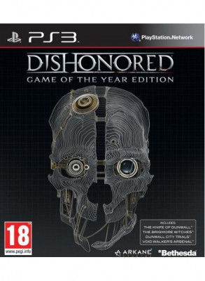 PS3 Dishonored (б/у)
