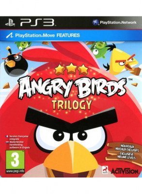 PS3 Angry Birds (б/у)