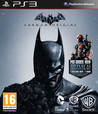 PS3 Batman: Arkham Origins / Летопись Аркхема (русские субтитры)