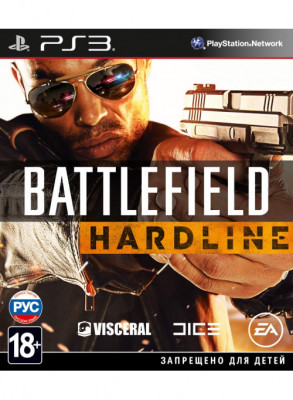 PS3 Battlefield Hardline (русская версия)